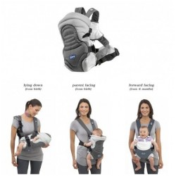 Chicco Soft & Dream Baby Carrier - Dove Grey