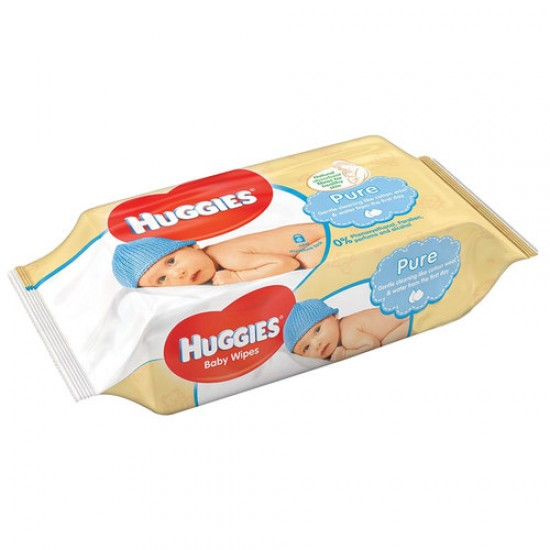 Huggies Baby Pure Wipes 6x56 - 336 Counts