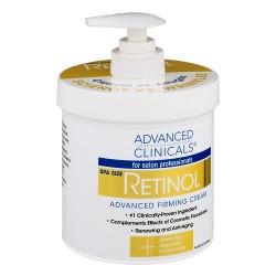 Advanced Clinicals Retinol Cream 454g