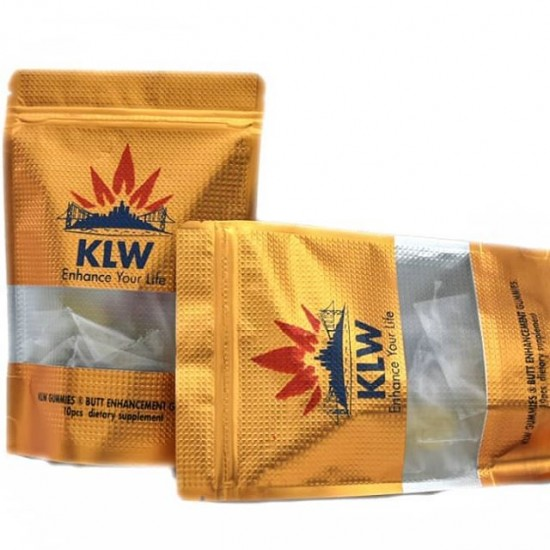 Klw Gummies For Butt & Hip Enhancement - 10 Gummies