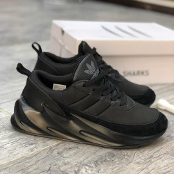 Adidas Shark Living Only While Moving - Black - Size 43