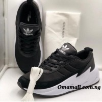 Adidas Shark Living Only While Moving - Black - Size 42