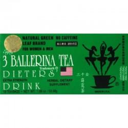 3 Ballerina Dieter's Herbal Tea - 18 Tea Bags