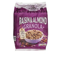 Crownfield Raisin & Almond Granola Cereal - 1kg Pack