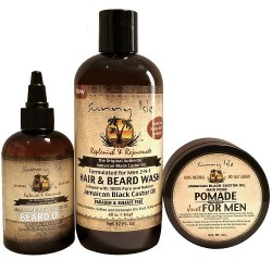 Sunny Isle Beard Care Collection (Beard Wash, Beard Oil & Pomade)