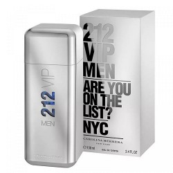 Carolina Herrera 212 VIP Men EDT Perfume For Him - 100ml