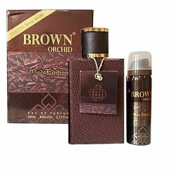 Fragrance World Brown Orchid - Oud Edition With Free Spray -  80ml